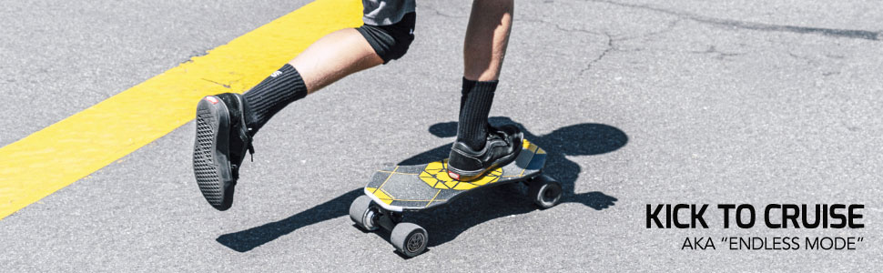 Swagtron NG3 electric skateboard