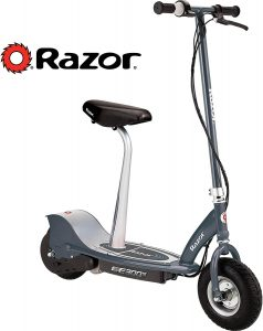Razor E300 Electric Scooter Seated