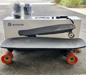 Boosted mini x with a box unboxing