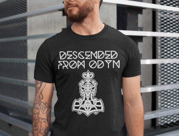Descended from odyn t shirt
